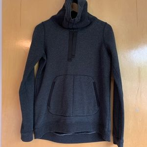 lululemon Cowl Neck Pull String Sweatshirt